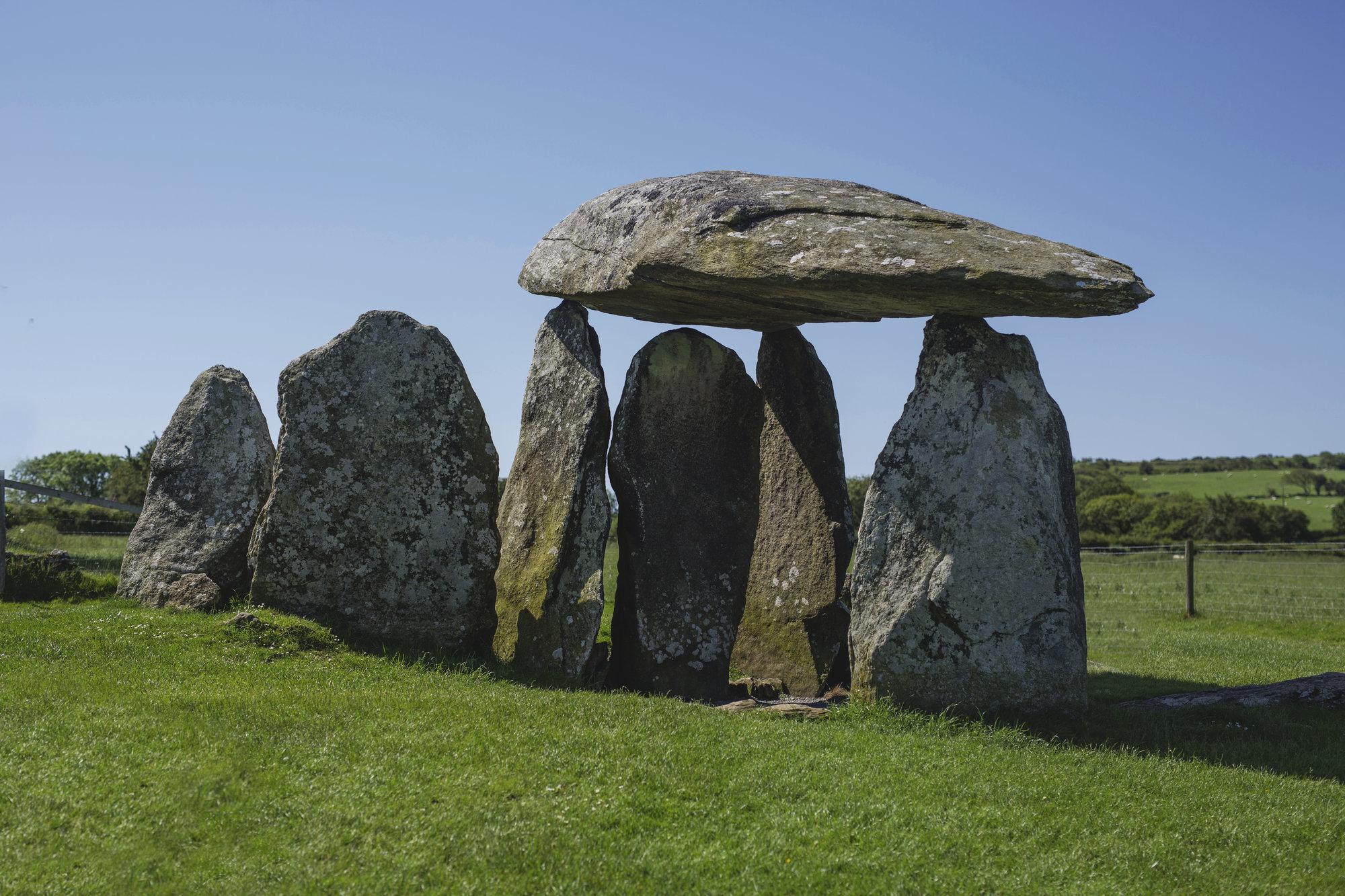 a dolmen