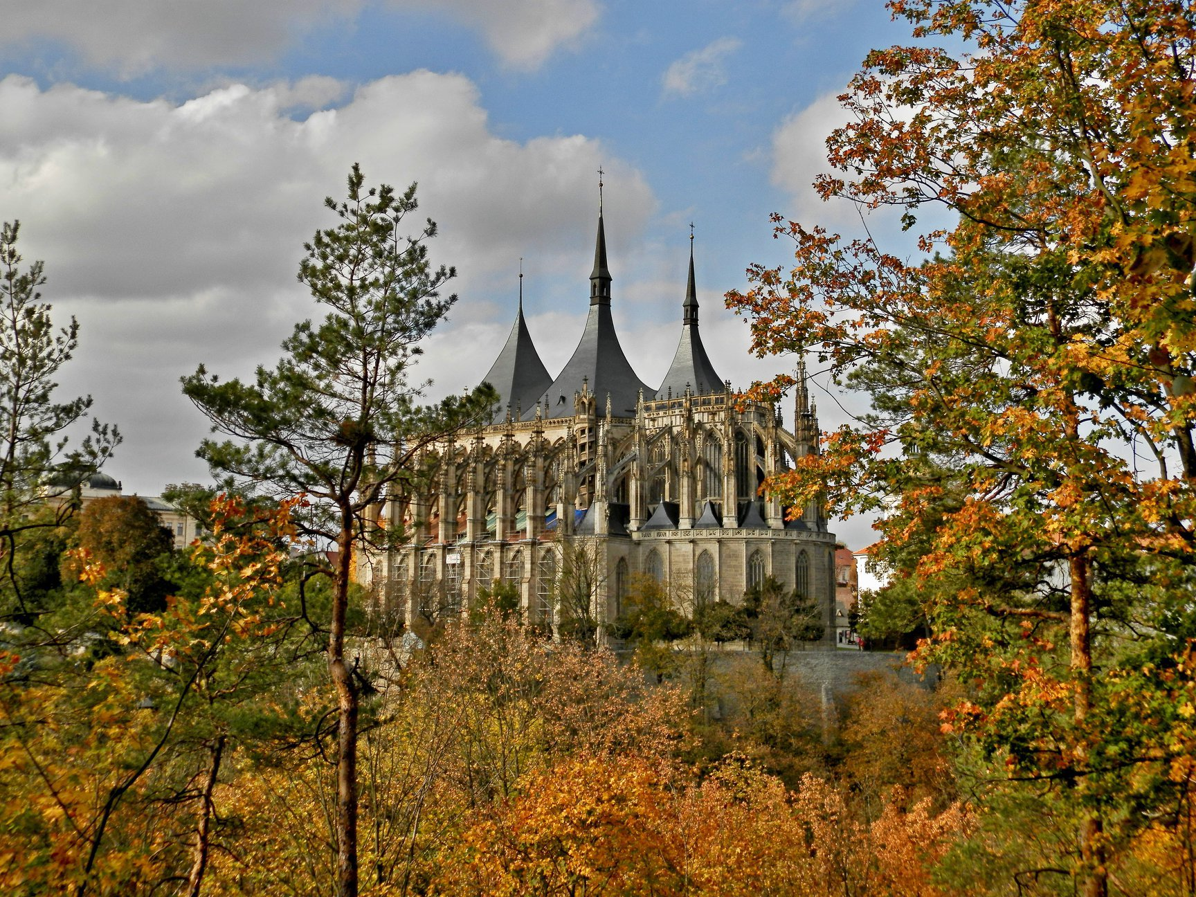 Kutna Hora in autumn