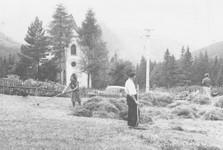osada Magurka (dobová fotografie)