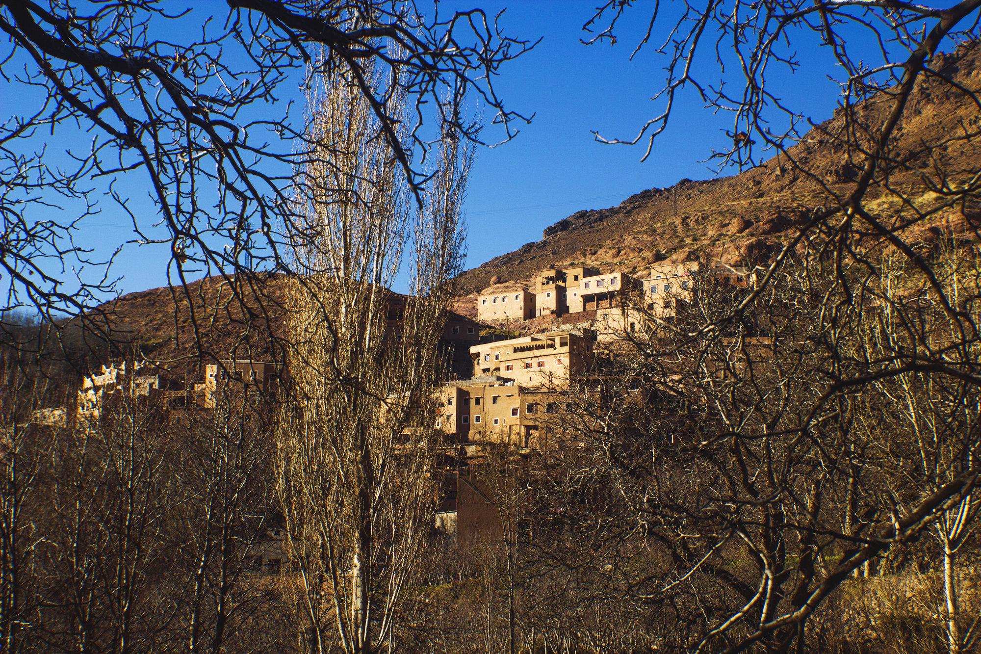 horská dedina Imlil