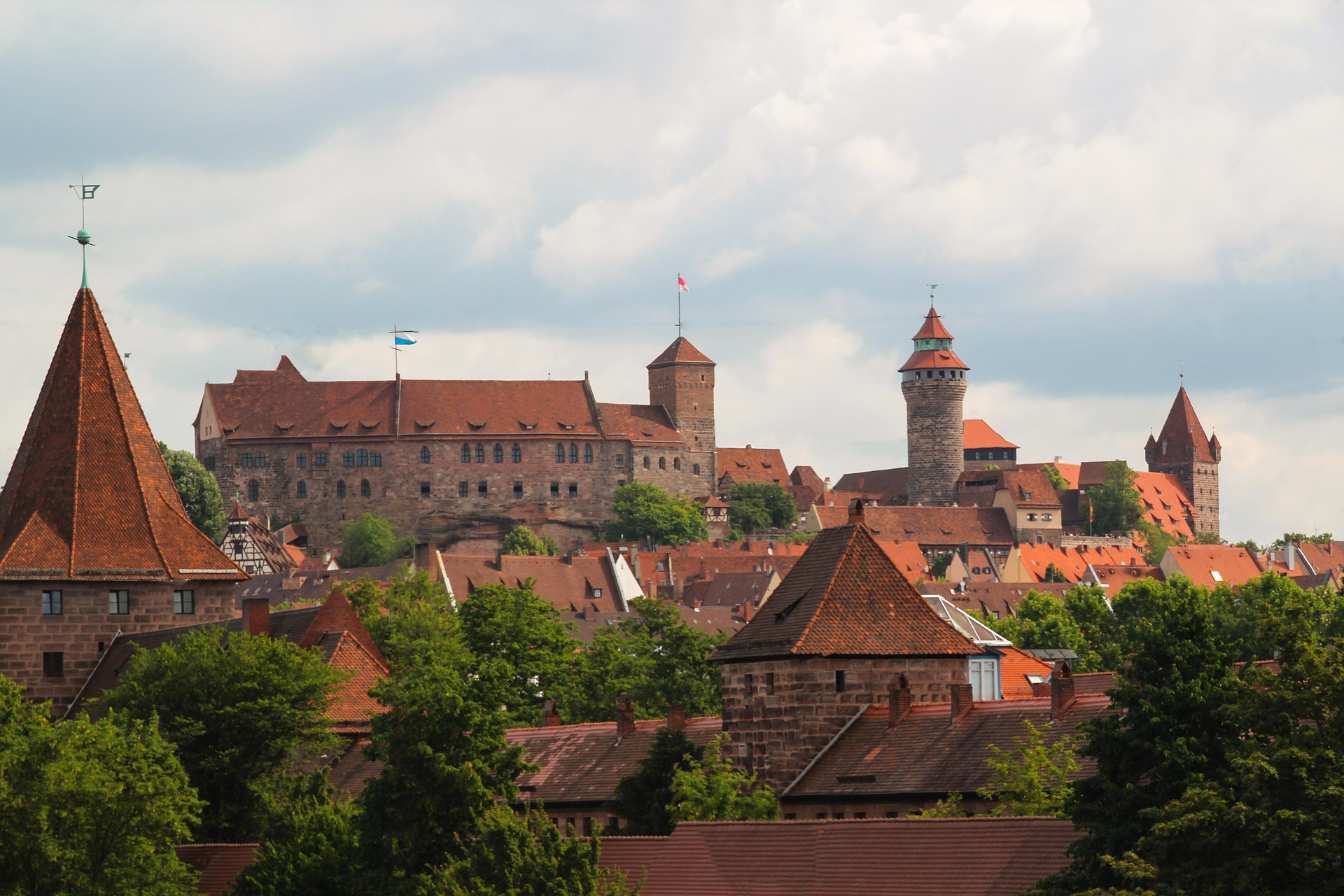 hrad Norimberk