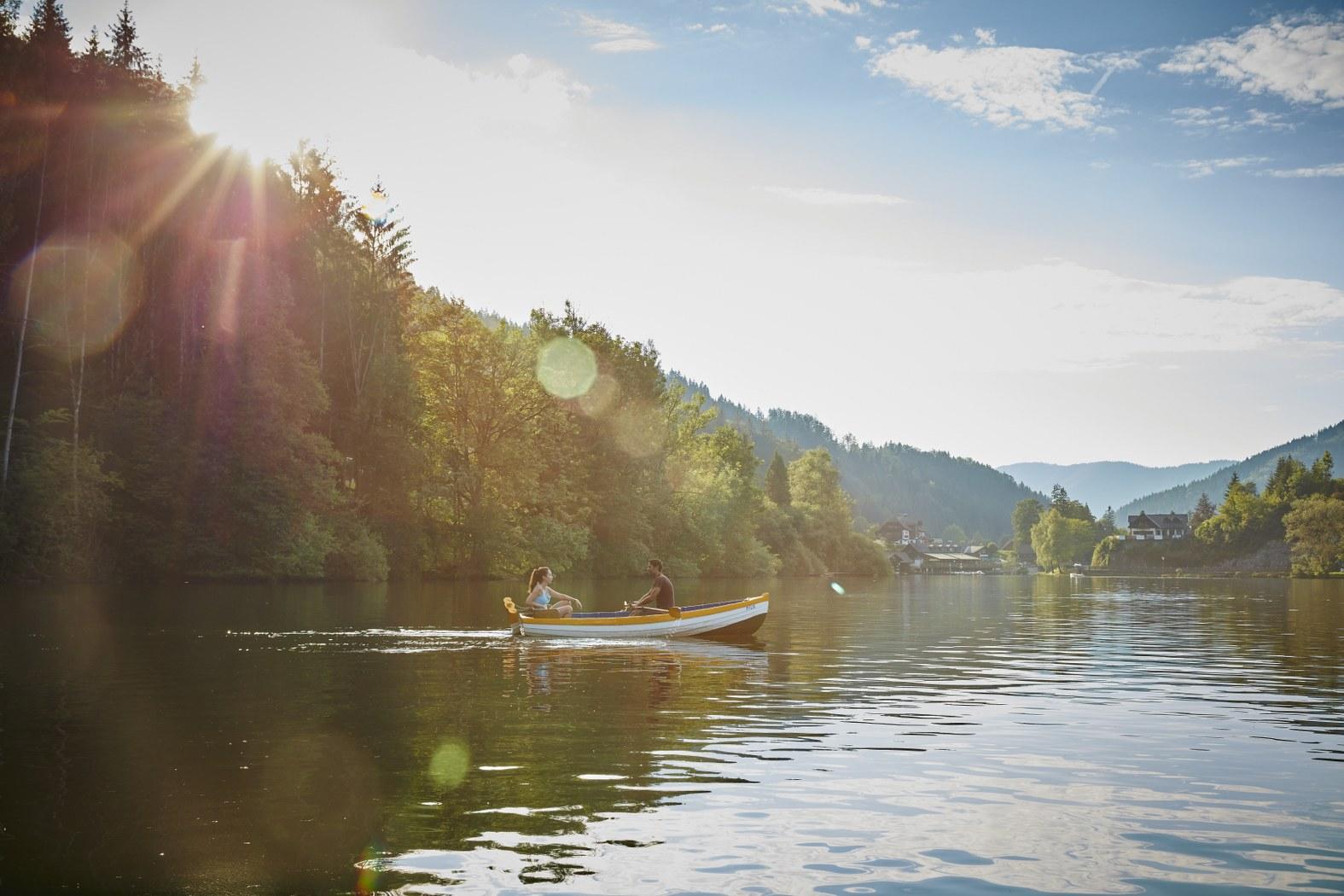 Lunzské jezero, (c) Niederösterreich Werbung / Michael Liebert