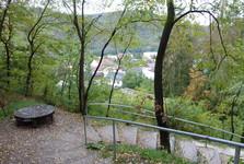 Прага-Збраслав, парк-Бельведер