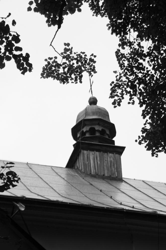 Slanický ostrov umění, kostel Povýšení sv. Kříže