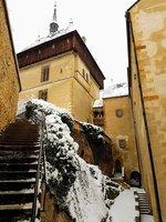 i v zimě má Karlštejn své kouzlo