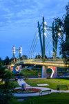 most přes řeku Mures