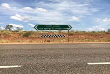 указатель на Stuart Highway