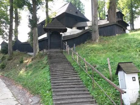 Leštiny - drevený artikulárny kostol evanjelickej cirkvi