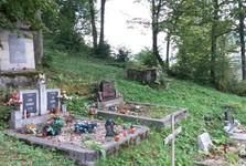 Leštiny - cintorín