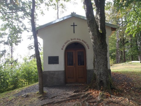 a chapel under Tremsin's hilltop