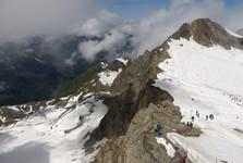 ľadovec na Kitzsteinhorne