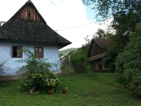 Ľudový drevený dom č. 39