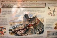 руины крепости Новый Градек (реконструкция)
