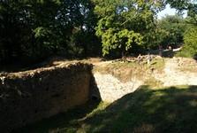 zřícenina hradu Nový Hrádek