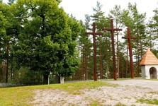Голгофа Св. Креста - деревянные кресты