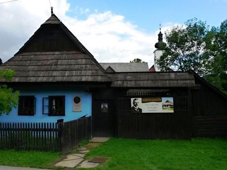 rodný dům Martina Kukučína