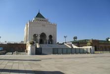 Мавзолей Мохамеда V и мечеть с башней Хассана
