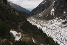 горное плато Sulzenau