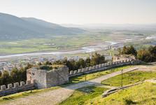 Berat –výhľad z hradu