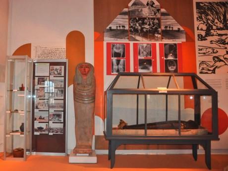 mumie egyptské ženy