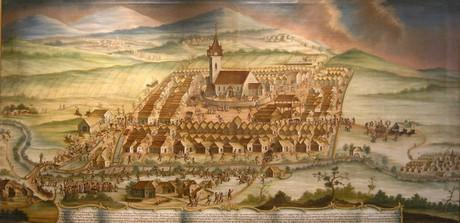 veduta of Rimavska Soboty