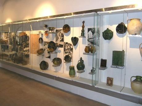 ukázka expozice z lidové kultury regionu