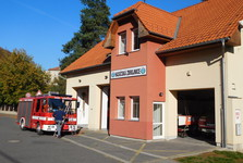 passing firefighter station