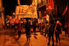 noční protesty