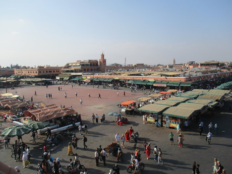 námestie Mŕtvych v Marrákeši