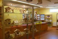 muzeum, prodejna