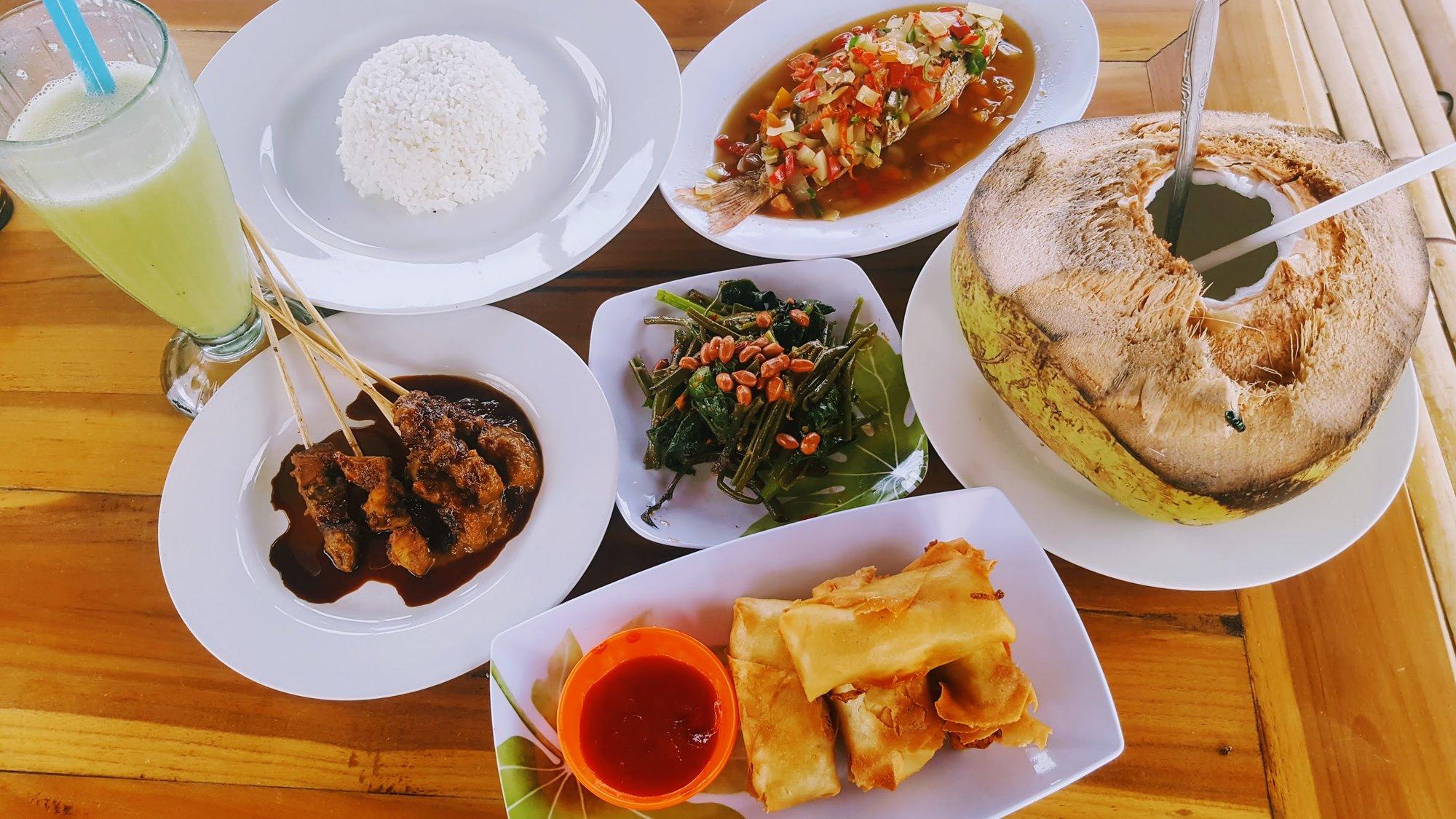 typické místní jídlo