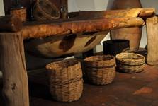 Museo Folklórico – vana z kůže