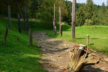 Археологический музей в природе - Гавранок