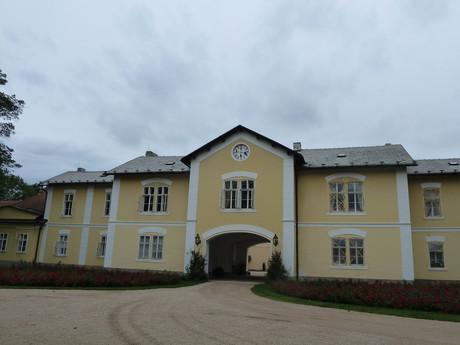 Костелец-над-Орлицей, хозяйственный объект возле Нового замка