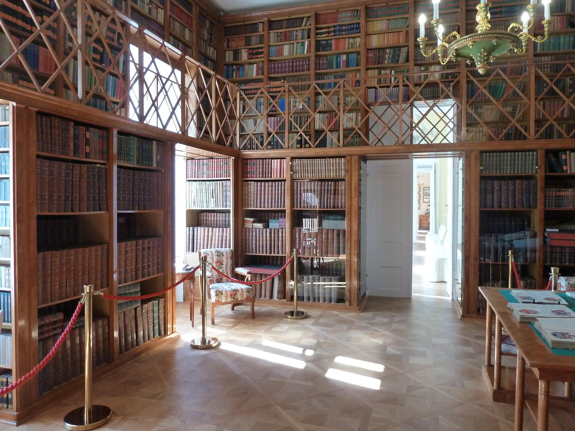 Kostelec nad Orlicí, Nový zámek – library