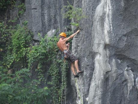 lezení ve Vietnamu