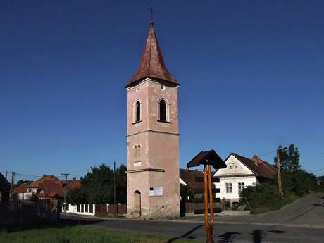 деревня Жиар, евангелическая колокольня