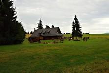 деревня Жиар, шалаш