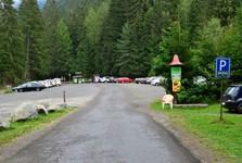 obec Žiar, odstavné parkoviště