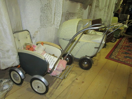 Jitka Krejcova's baby carriage exhibition