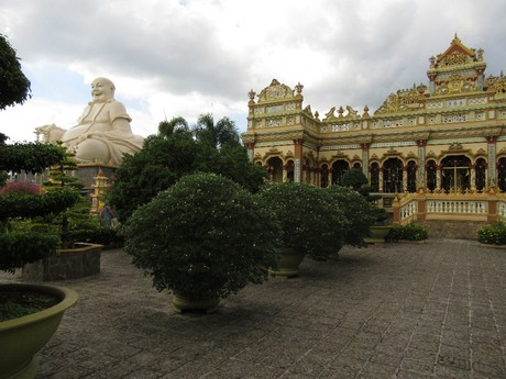 pagoda Vinh Trang v My Tho
