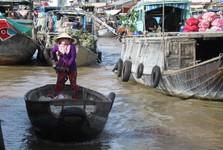 плавучий рынок Cai Rang