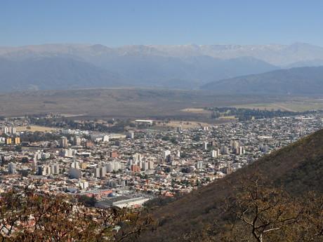 Salta – výhled z Cerro San Bernardo