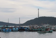 the fishermen village of An Thoi