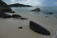 пляж южнее  Sao Beach