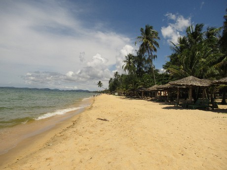 pláže na západe ostrova
