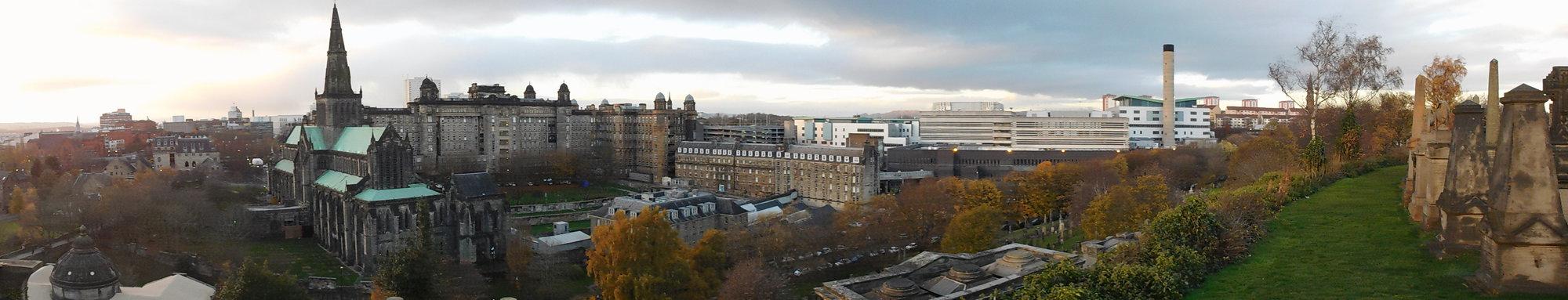 Glasgow – panoráma
