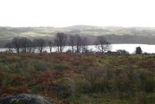 pohled z Parkhill na jezero
