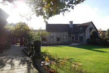 zahrada Shakespearova domu