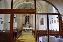 Малужина - костел Возвышения Св. Креста